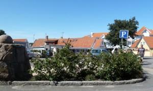 Aroniabeeren Bornholm Parkplatz