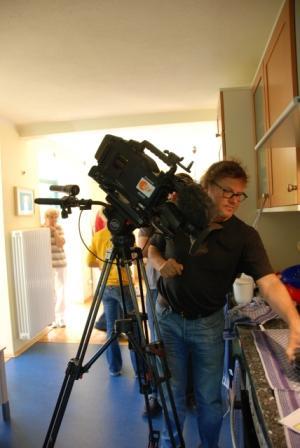 ZDF Kameramann in Kueche