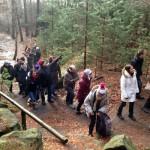 Aronianer auf Weihnachtswanderung