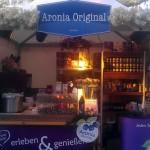 Weihnachtsmarkt-Aroniastand