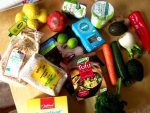 Wocheneinkauf Vegan Triät Challenge