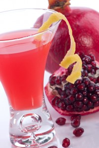 Pomegranate martini - Most popular cocktails series