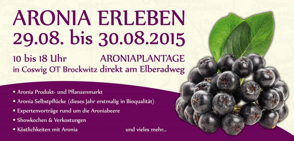 Infos zum Aronia ORIGINAL Erleben Fest 2015