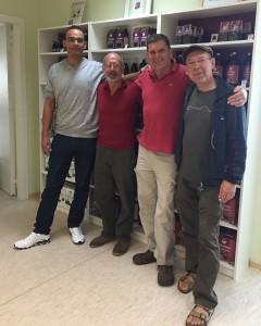 Bergsteiger Hans Saler zu Besuch bei Aronia ORIGINAL