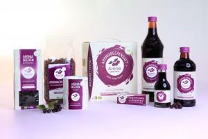 Produktauswahl von Aronia ORIGINAL im neuen Design