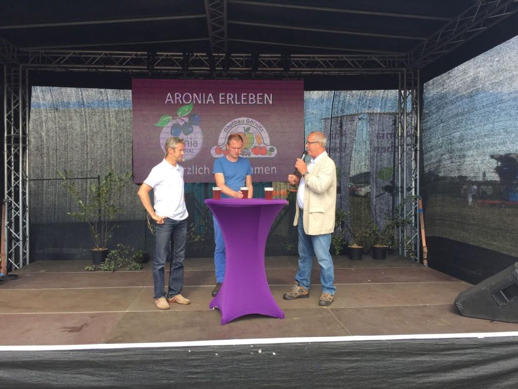 Arndt Neukirchner im Dialog mit Jens Weißflog und Moritz Hitzer