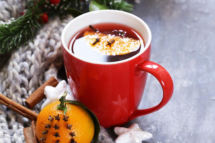 Rezept für einen würzigen Winterpunsch