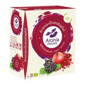 Packshot: Aronia+Granatapfel Direktsaft Bio 3 l