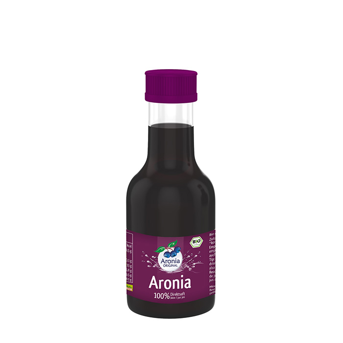 bio aronia direktsaft 100 ml f r unterwegs. Black Bedroom Furniture Sets. Home Design Ideas