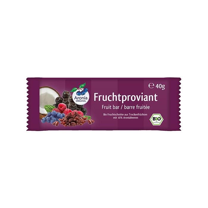 Packshot: Fruchtproviant mit Aroniabeeren Bio 40 g