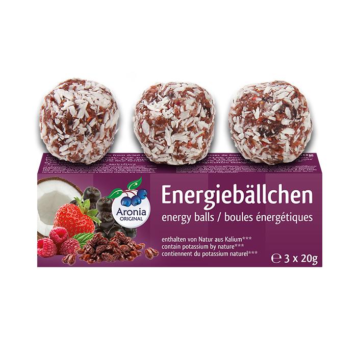 Packshot: Energiebällchen Bio 60 g