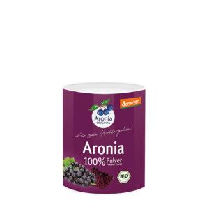 Packshot: Aroniabeeren Pulver demeter 100 g