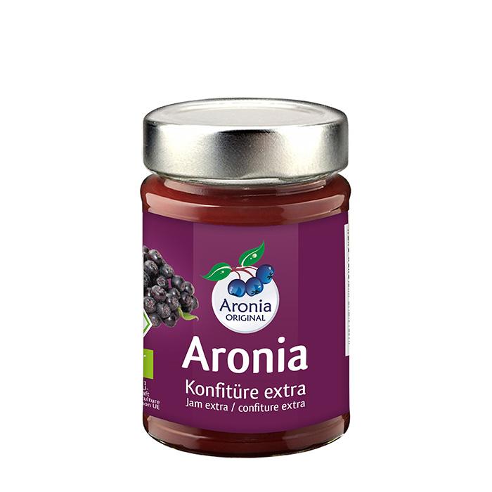 Packshot: Aronia Konfitüre Bio 225 g