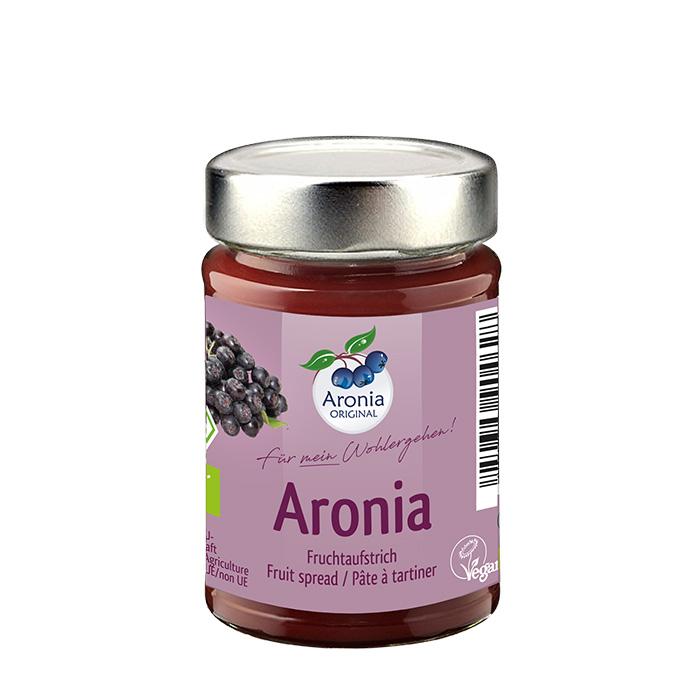 Packshot: Aronia Fruchtaufstrich Bio 200 g