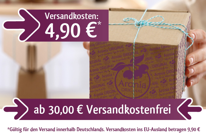 4,90 EUR Versandkosten - ab 30,- EUR Warenwert PORTOFREI (in DE)