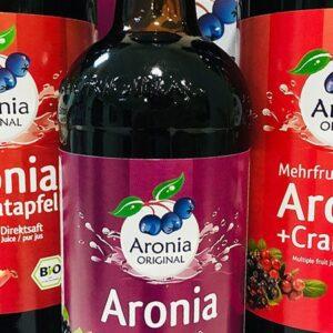 Aronia ORIGINAL Direktsäfte