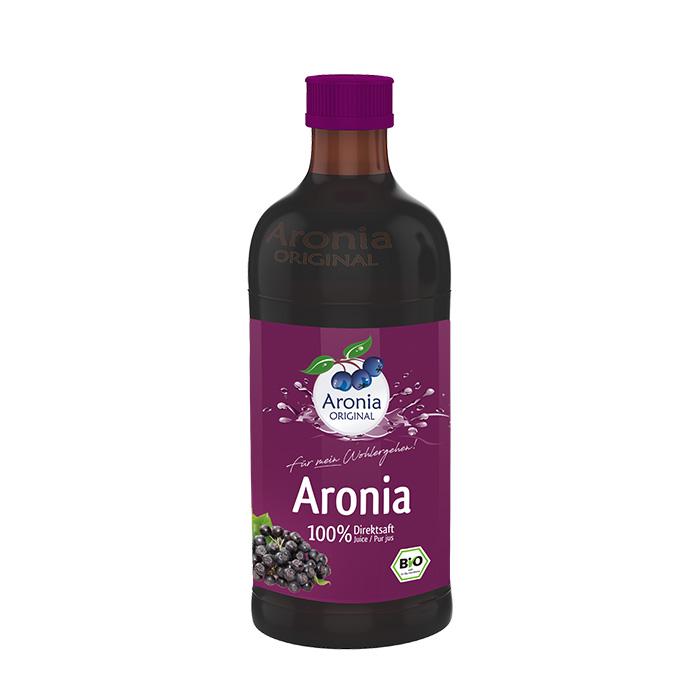 Packshot: Aronia Direktsaft Bio 0,35 l