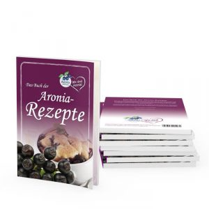 Packshot: Aronia Rezepte Buch 50 Seiten