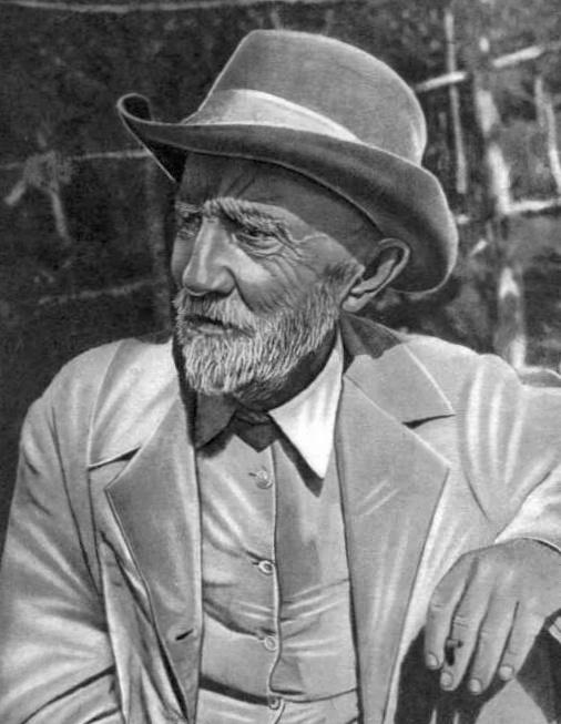 Seitenfoto: Botaniker Iwan W. Michurin 1936