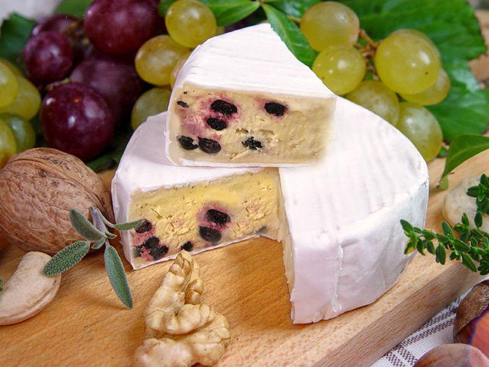 Seitenbild: Aroniabeeren Käse