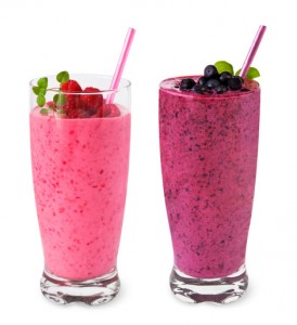 Aronia Buttermilch-Shake
