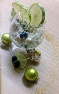 Limetten Joghurt Dessert