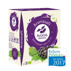 Bio Aroniasaft 3-Liter-Saftbox