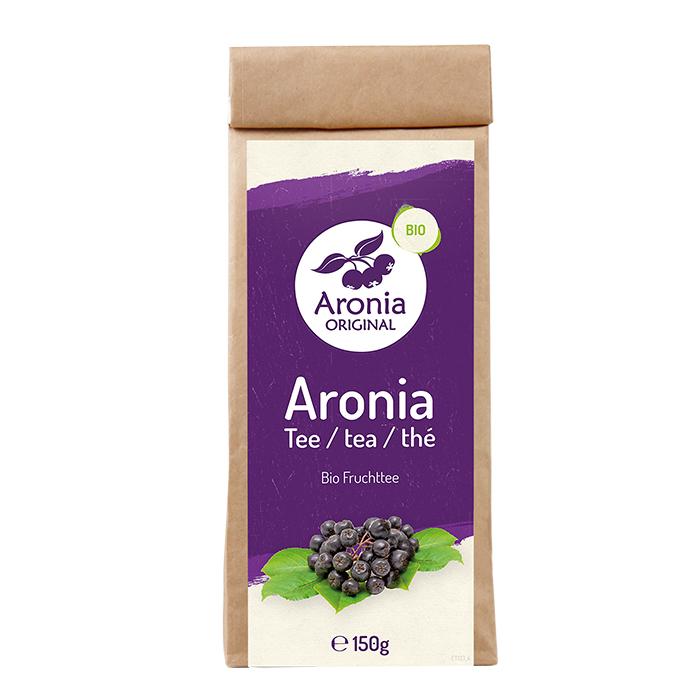 Packshot: Aronia Trestertee 150g Packung