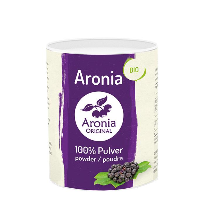 Packshot: Bio Aroniabeeren Pulver 100 g