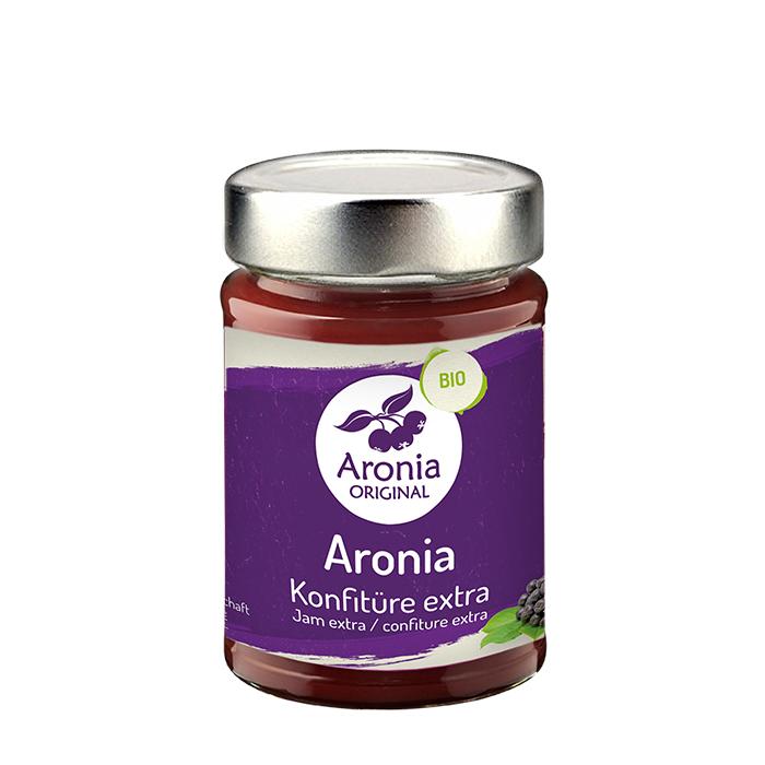 Packshot: Bio Aronia Konfitüre extra 225 g