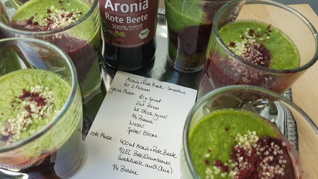 Aronia + Rote Beete Smoothie