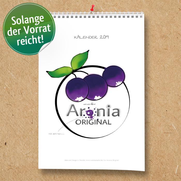 Aronia ORIGINAL Kalender 2019