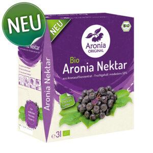 Packshot: Bio Aronia Nektar 3 Liter